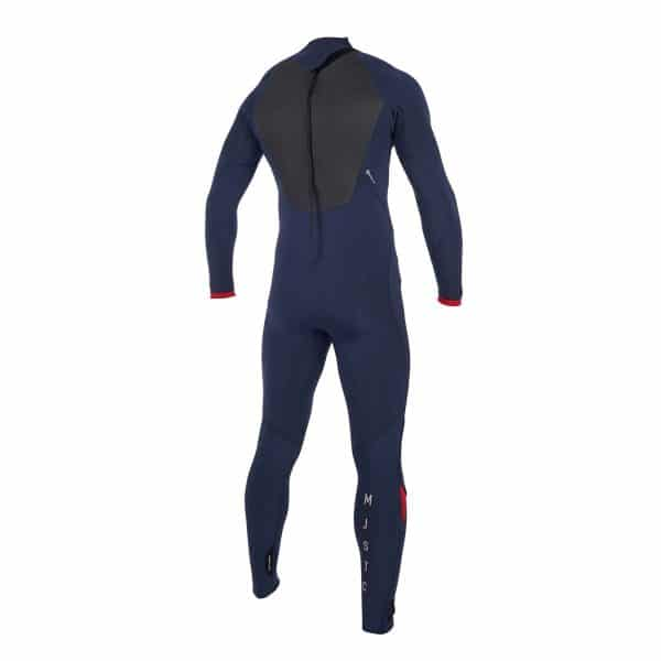 Mystic Majestic Mens 5/3 back zip wetsuit 2019 6