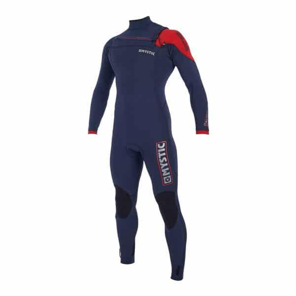 Mystic Majestic Mens 3/2 front zip wetsuit 2019 6