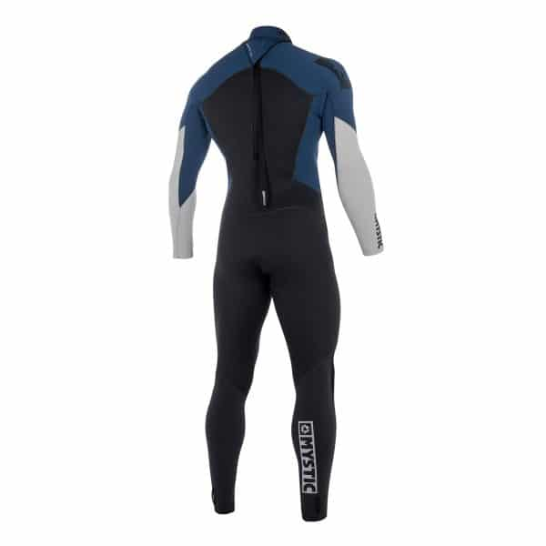 Mystic Star Mens 5/4 back zip full wetsuit 2019 3