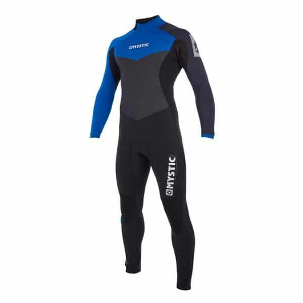 Mystic Drip Mens 3/2 back zip wetsuit 2019 1