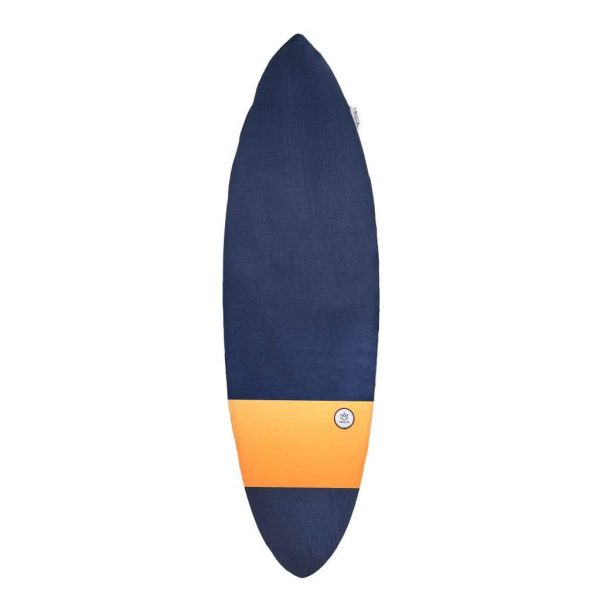 FONE Manera Surf Board Sock 5ft6 Blue/Orange 1